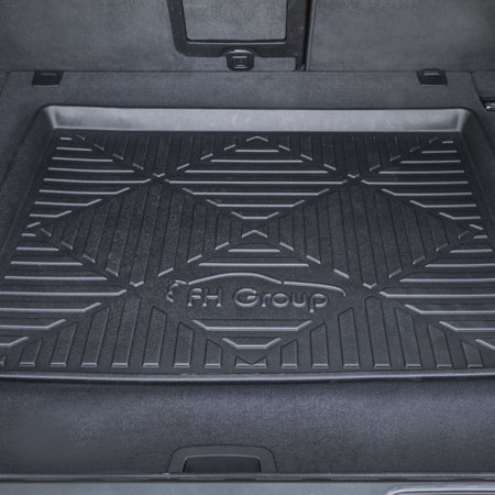 Molded Cargo Area Tray - FH GROUP Premium Multi-Use Cargo Tray Liner, 40' Black