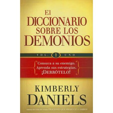 El diccionario sobre los demonios - vol. 1 : Conozca a su enemigo. Aprenda sus estrategias.  ¡Derrótelo! - Disfraces Halloween Demonio