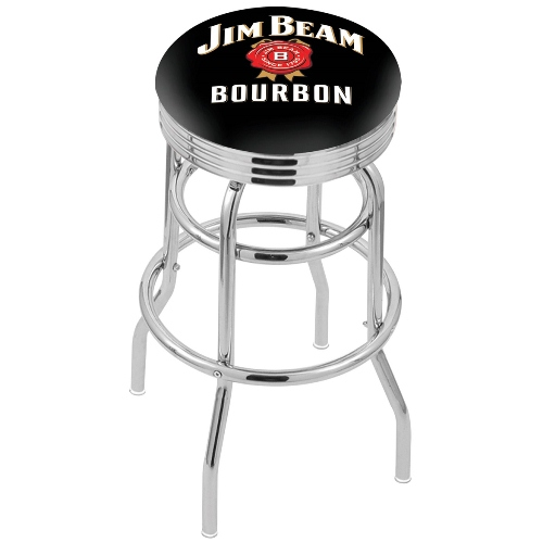 Swivel Stool By Holland Bar Stool Jim Beam Bourbon 25 Inches