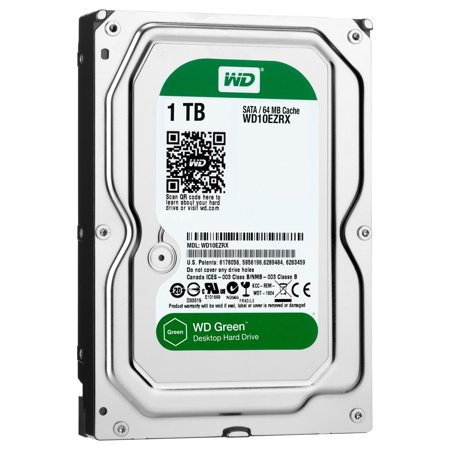 Western Digital Wd Green Desktop Wd10ezrx 1 Tb 3 5  Internal Hard Drive