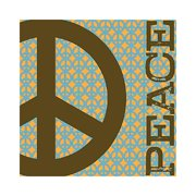 Forest Creations Kids Peace/Love Canvas Art