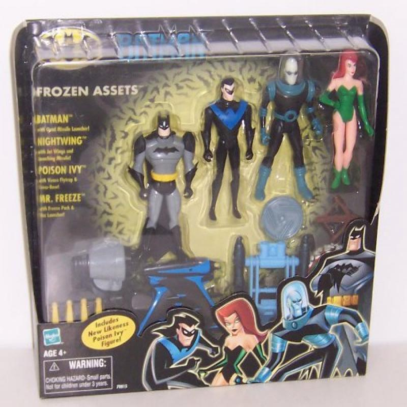 Batman the Animated Series: Frozen Assets Box Set 4 Action Figures (Batman, Nightwing, Mr.... by