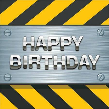 "Creative Converting Construction Birthday Zone ""Happy Birthday"" Napkins"