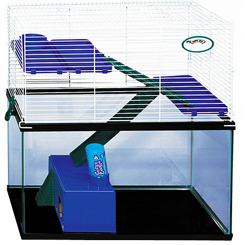 Super Pet My First Home Tank Topper Habitat for 10 Gallon Tanks (Colors Vary)