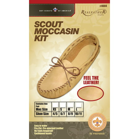 Leathercraft Kit Scout Moccasin - Size 10/11