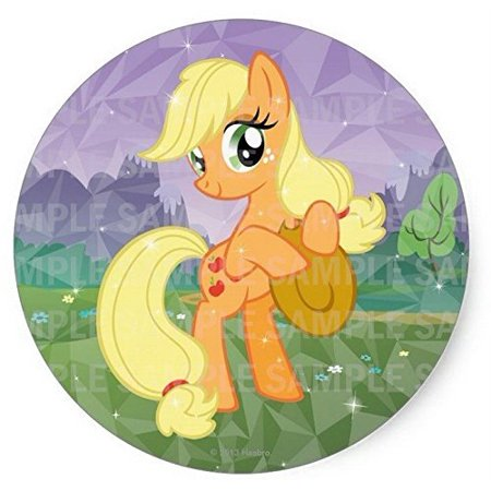 My Little Pony Birthday Cake Kit (My Little Pony Applejack Birthday Edible Frosting Image Cake Topper 8