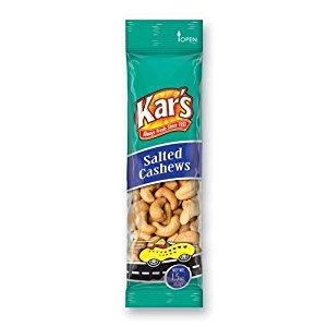 DDI Kars Tube Salted Cashews- Case of 18