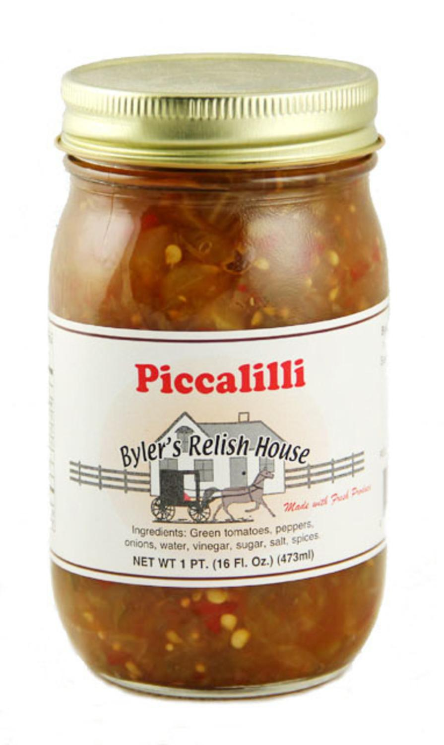 Byler's Relish House Homemade Amish Country Piccalilli 16 oz. by Byler's Relish House