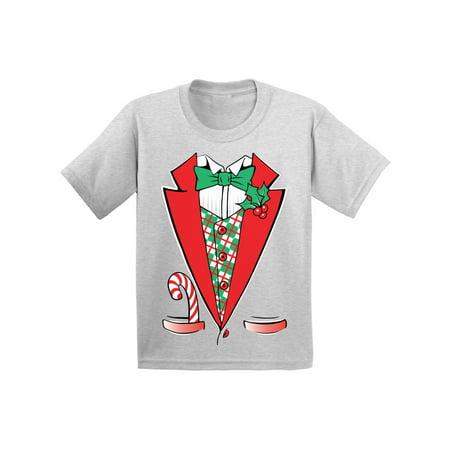 a8b1ce9d Awkward Styles Christmas Tuxedo Costume Christmas Shirts for Kids Santa  Funny Kid's Christmas Holiday Shirt Christmas Costume Shirts for Boys  Christmas ...