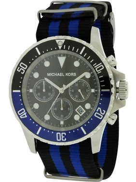6107488ac373 Product Image Everest Grosgrain Mens Watch MK8398. Michael Kors