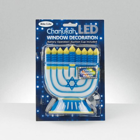 Lighted Menorah (8.75