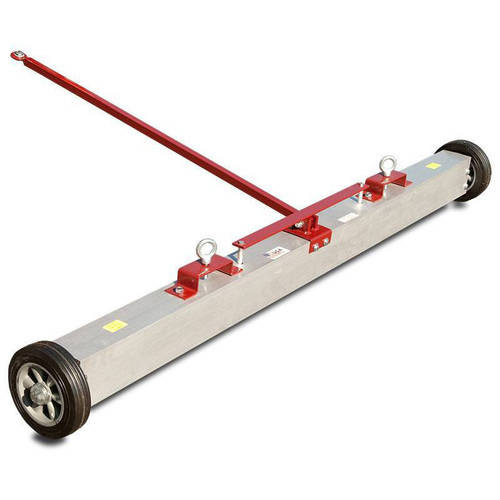 "Super Strength Load Release 3-in-1 Tow Behind Magnetic Sweeper, 48"" by SHIELDS COMPANY"