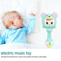 Educational Baby Electronic Music Rattle Cute Cartoon Infant Shaking Hand Bells, Shaking Rattle Toys, Baby Hand Bells