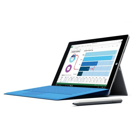 """Microsoft Surface Pro 3 with WiFi 12"""" touch screen 512GB Tablet PC Featuring Windows 10 Pro Operating System"""