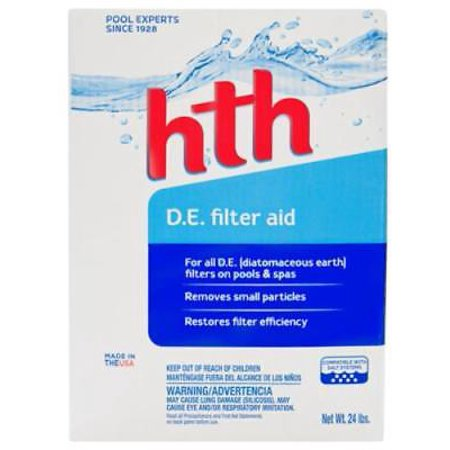 HTH 25 LB Diatomaceous Earth Filter Aid Only