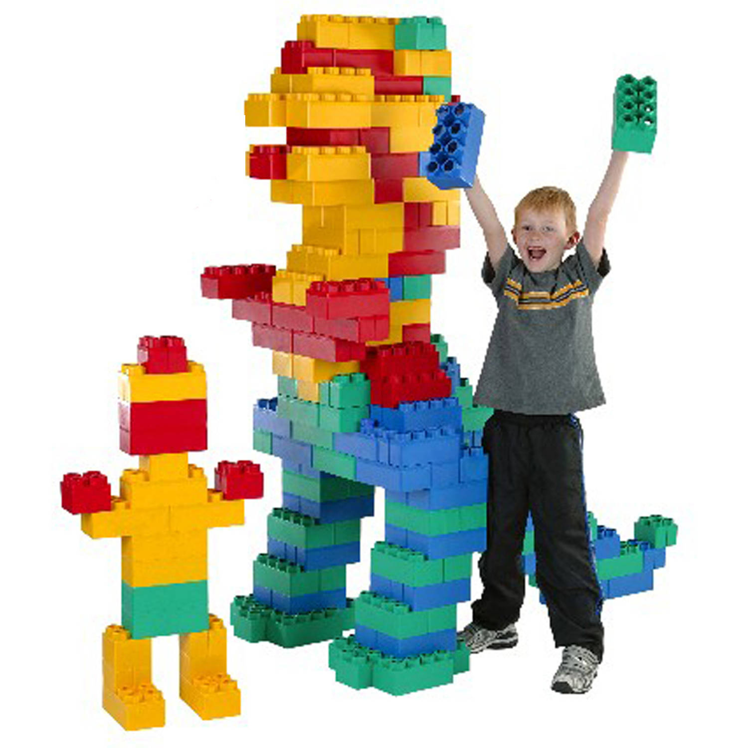 Kids Adventure Jumbo Blocks Jumbo Building Set, 192-Pieces