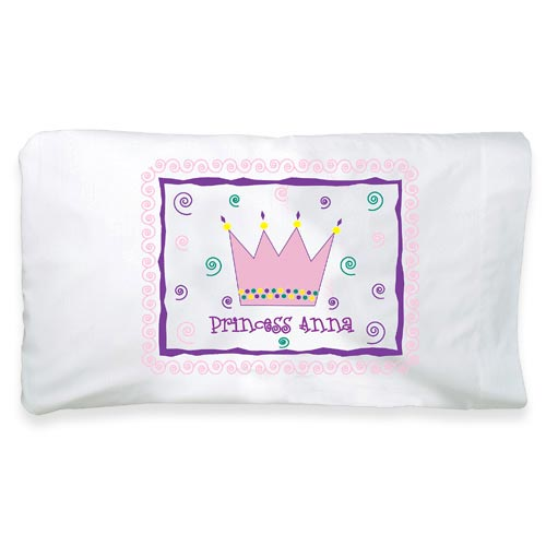 Personalized Pillowcase, Princess