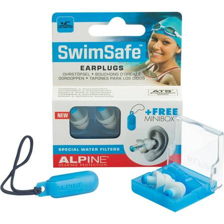 Image of Alpine SwimSafe Earplugs, 1 pr