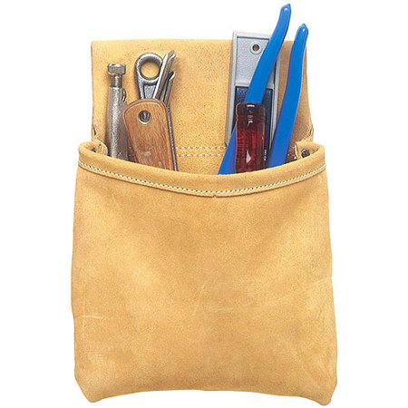 - Custom Leathercraft 444X Single-Pocket Nail and Tool Pouch