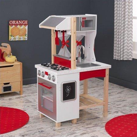 Kidkraft modern island kitchen walmartcom for Spielküche kidkraft