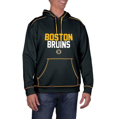 NHL Boston Bruins Men's Classic-Fit Long Sleeve Pullover Impact Hoodie