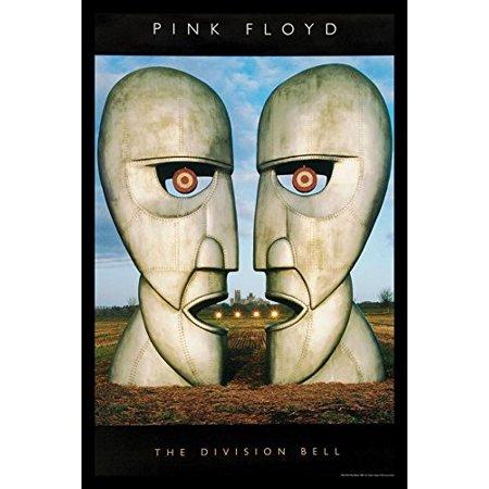 Framed Pink Floyd Division Bell 36X24 Music Art Print Poster Wall Decor British Progressive Rock Band Pink Floyd 14Th Album
