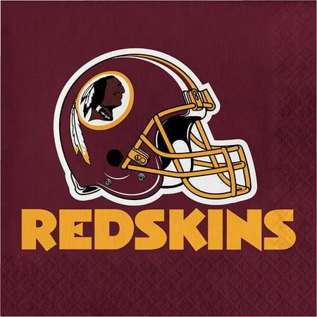 Creative Converting Washington Redskins Napkins, 16 ct - Redskins Party