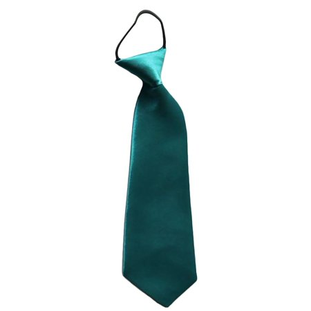 Easy Slip On Solid Color Polyester Tie, 1 to 6 -