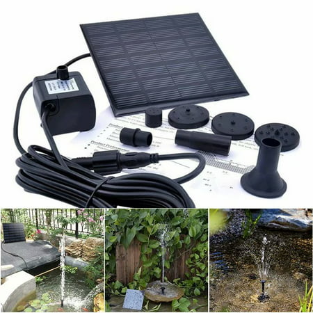 180L/H Solar Water Pump for Garden Pool Pond Fountain Aquarium - image 9 of 9
