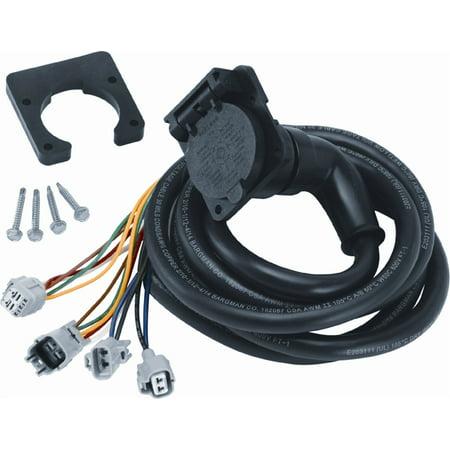 Bargman 50-97-412 90 Degree Fifth Wheel & Gooseneck RV Trailer Adapter Harness with 9