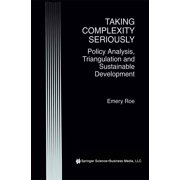 Taking Complexity Seriously - eBook