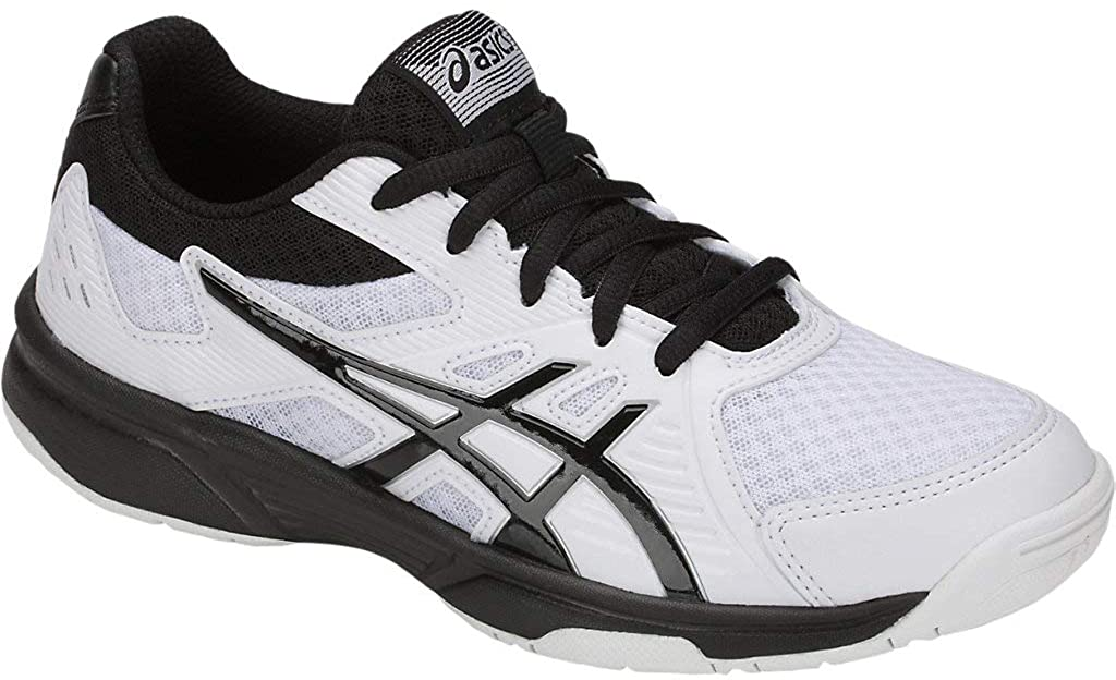 GS Kids Volleyball Shoes, White/Black