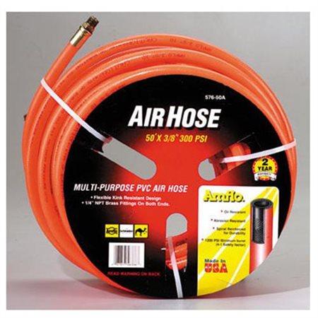 "Amflo 50' x 3/8"" PVC Air Hose"