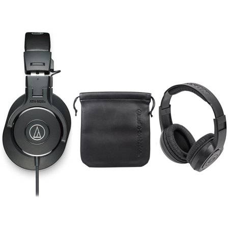 audio technica ath m30x studio monitor collapsible headphone headphones. Black Bedroom Furniture Sets. Home Design Ideas