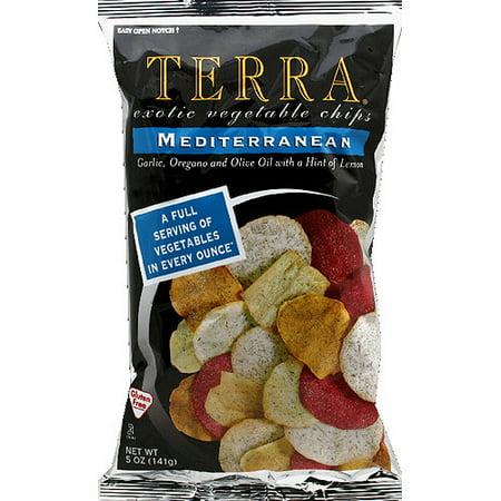 Terra Mediterranean Vegetable Chips, 5 oz, (Pack of