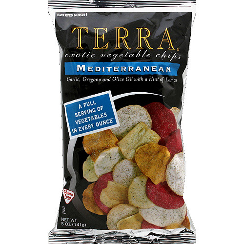 Terra Mediterranean Vegetable Chips, 5 oz, (Pack of 12)