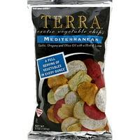Terra Mediterranean Vegetable Chips, 5 oz, (Pack of 12)