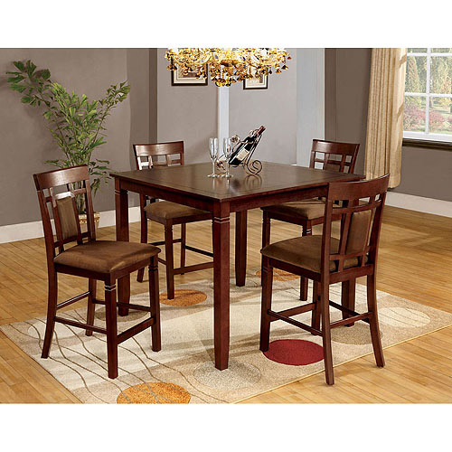 Venetian Montclair 5-Piece Dining Set, Dark Cherry