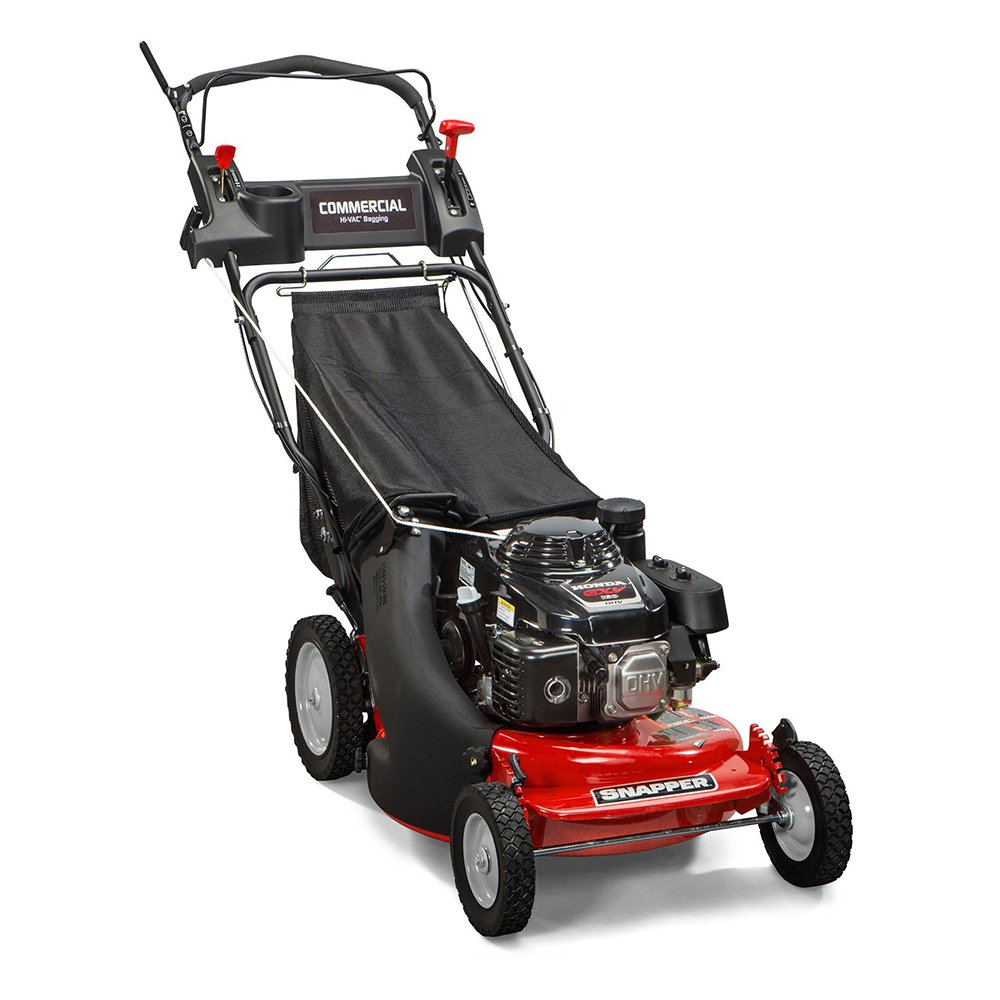 "Snapper 7800849 Commercial Series HI VAC 21"" Self Propelled Bagged Lawn Mower"
