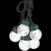 Gemmy Lightshow 45ct LED Projection Christmas Lights with Clips, Set of 8, White