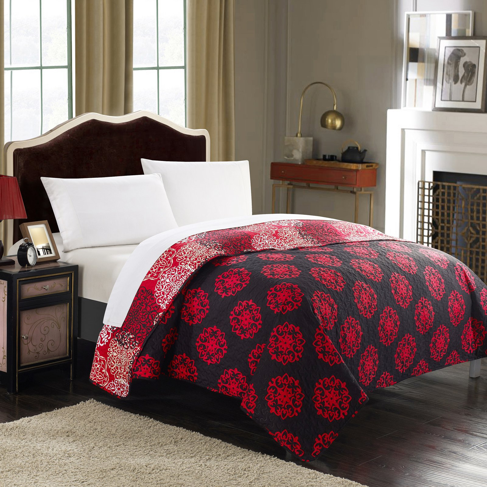 Chic Home 1-Piece Juliana Boho Quilt Set