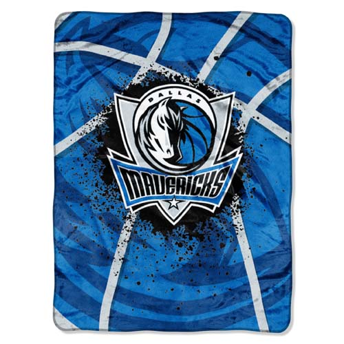 Dallas Mavericks Extra Large Plush Blanket