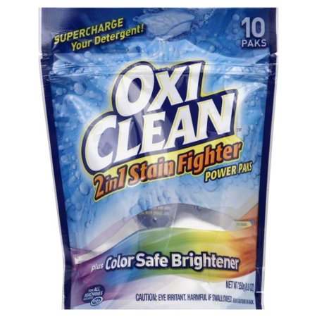 Oxiclean Max Force Laundry Stain Fighter And Booster Power Paks  10 Count