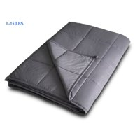 Weighted Blanket (12 lbs, 15 lbs, 20 lbs) Cotton Heavy Gravity Relief Compression Blanket Improve Sleep Anxiety