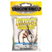 Deck Protector Small Dragon Shield White 50t Arcane Tinmen ATM10105