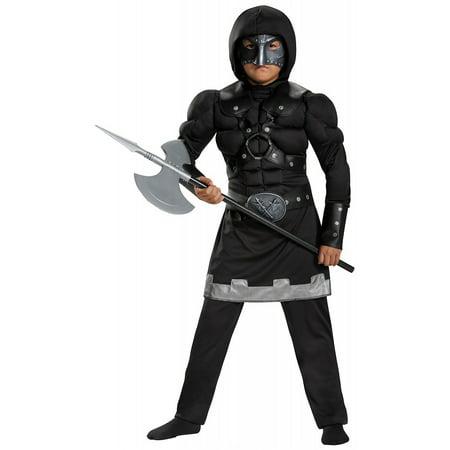 Executioner Muscle Child Costume - Medium - Executioner Costumes