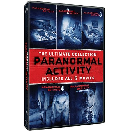 Paranormal Activity  The Ultimate Collection  Movies 1 5    Paranormal Activity   Paranormal Activity 2   Paranormal Activity 3   Paranormal Activity 4   Paranormal Activity  The Marked Ones