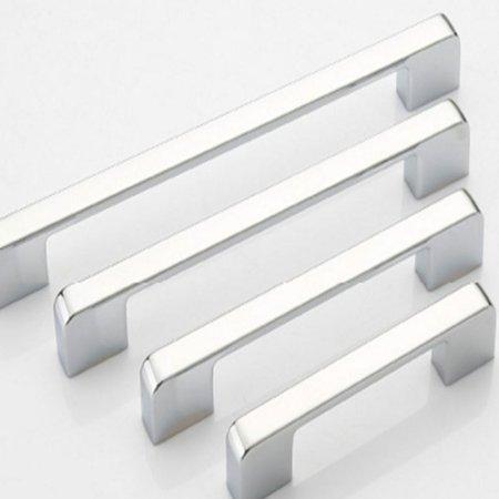 Practical Solid Modern Zinc Alloy Wardrobe Door Handle Simple Furniture Cabinet Drawer Door Handle Knob Home Decoration - image 7 of 7