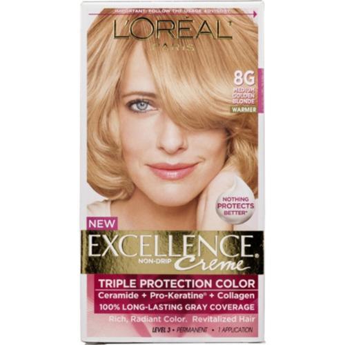 L Oreal Paris Excellence Creme Haircolor Medium Golden