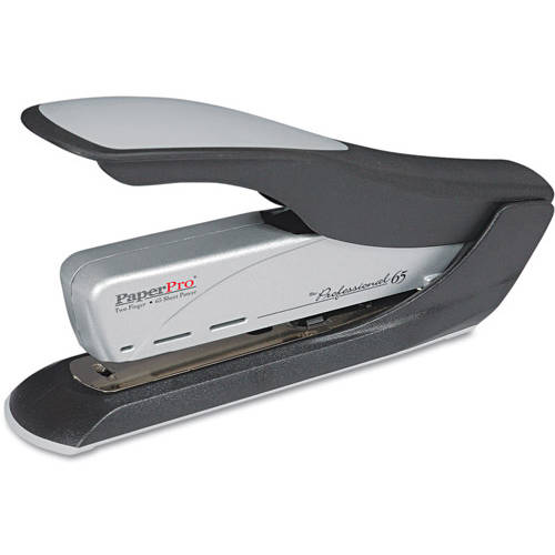 PaperPro Heavy-Duty Stapler, Black/Silver